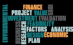 Funding consultant services Evaluation word cloud